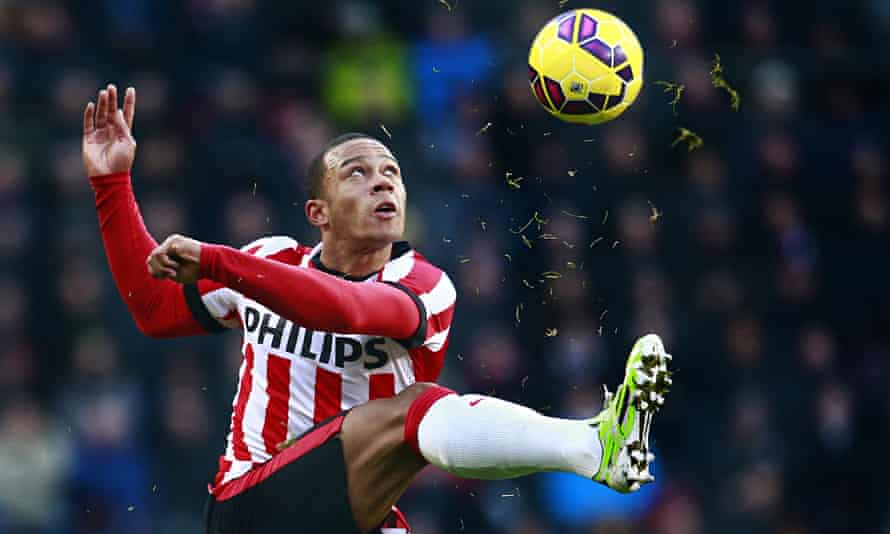 Memphis Depay joined Manchester United from PSV Eindhoven for £25m last month