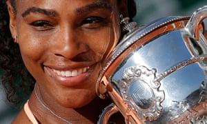 Serena Williams, French Open champion