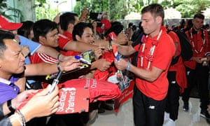Liverpool Arrives In Bangkok