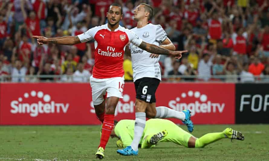 Arsenal v Everton - Barclays Asia Trophy Final