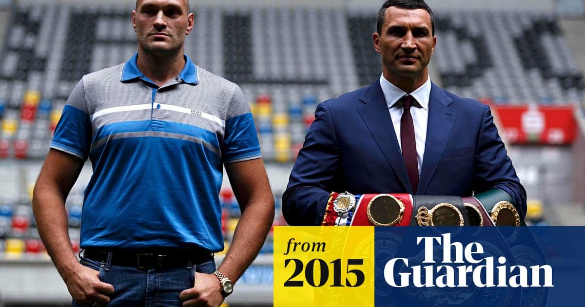 Tyson Fury on mission to end reign of 'boring' Wladimir Klitschko