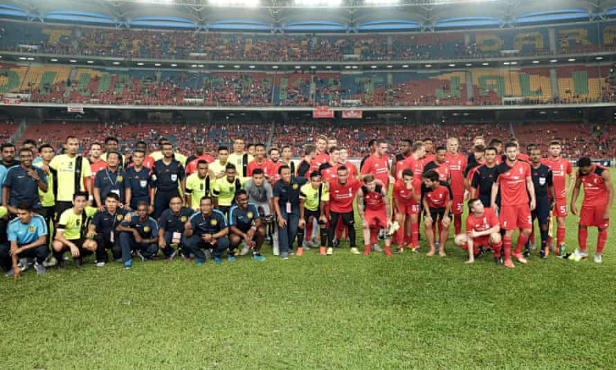 Malaysia XI v Liverpool