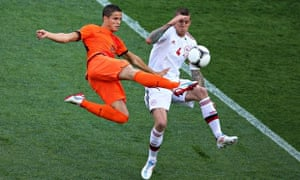 Ibrahim Afellay, here playing for Holland, has the pedigree of four years with Barcelona.