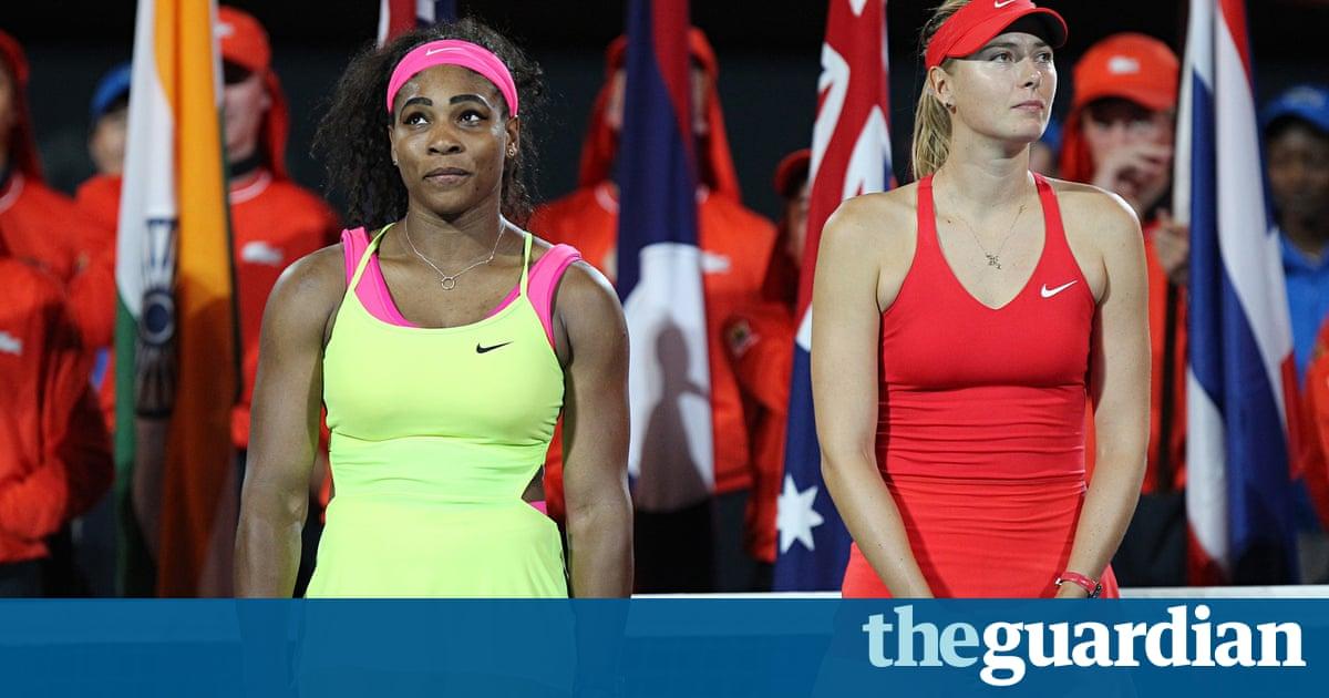 Serena Williams v Maria Sharapova: a rivalry threatens to ...