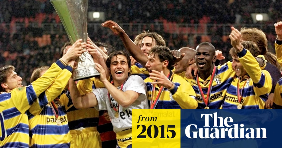 Bankrupt Parma Put Eight Trophies Up For Sale To Raise Funds Football The Guardian