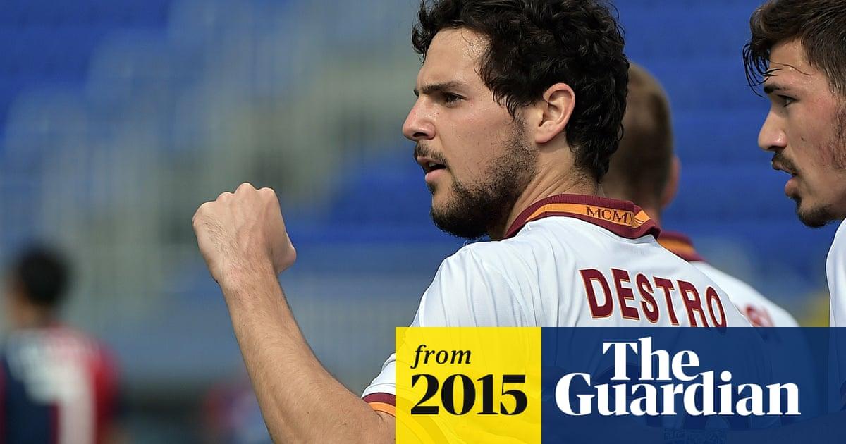 Norwich S Alex Neil Confirms Interest In Roma Striker Mattia Destro Norwich City The Guardian