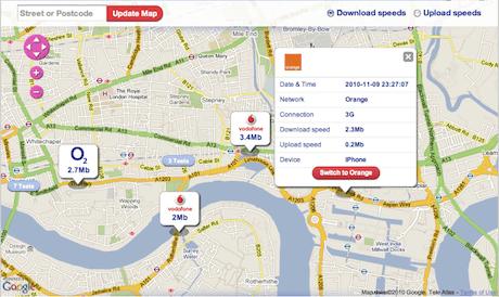 StreetStats crowdsourced map