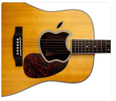 Apple 2010 ipod invite - guitar