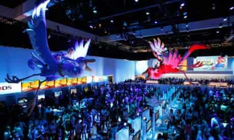 Nintendo booth at E3