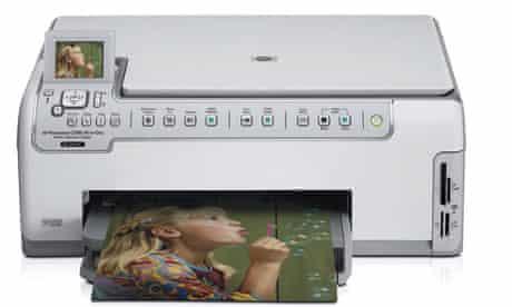 Hewlett Packard photographic printer