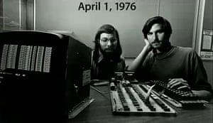 Steve Jobs and Steve Wozniak, 1976