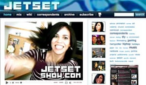 Web-only TV show JETSET