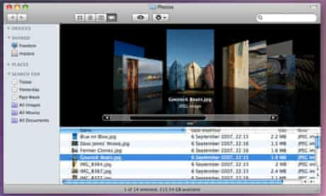 Mac OS X Leopard - Cover Flow