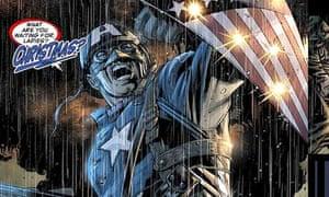Marvel comic character Captain America