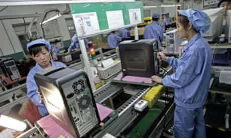 China computer factory