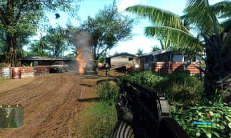 Screenshot from the game Crysis