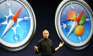 Steve Jobs and Safari