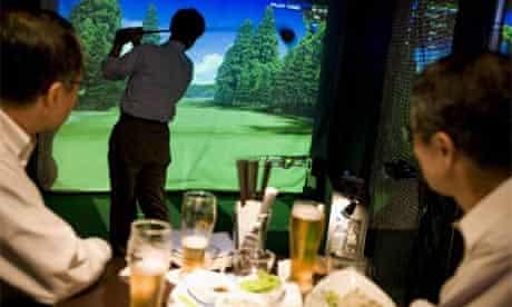 Links golf bar, Japan