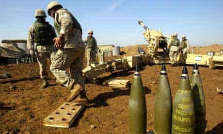 150mm howitzer gun