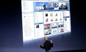 Steve Jobs launches Apple Genius
