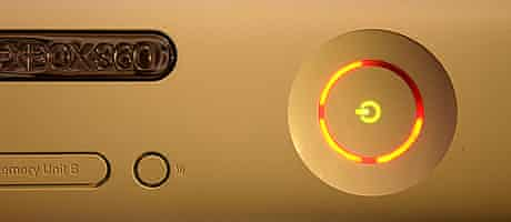 """Xbox 360 """"red ring of death"""""""