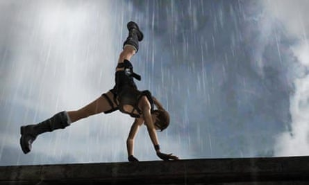 Lara Croft, in screenshot from Tomb Raider: Underworld