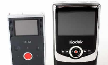 Flip Mino and Kodak Zi6
