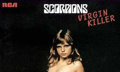 The Scorpions' Virgin Killer album cover from 1976