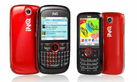 INQ's new Mini and Chat handsets