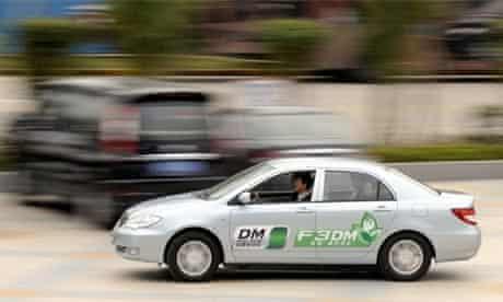 BYD's F3DM plug-in hybrid