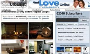 Web Urbanist website