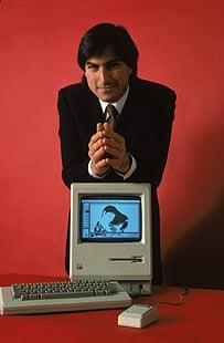 Steve Jobs and original Mac