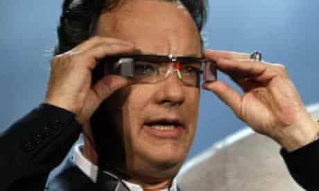 Tom Hanks Sony 3D glasses