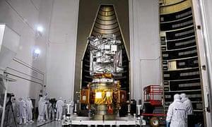 From giant leap to big bang: Nasa prepares moon smashing satellite ...