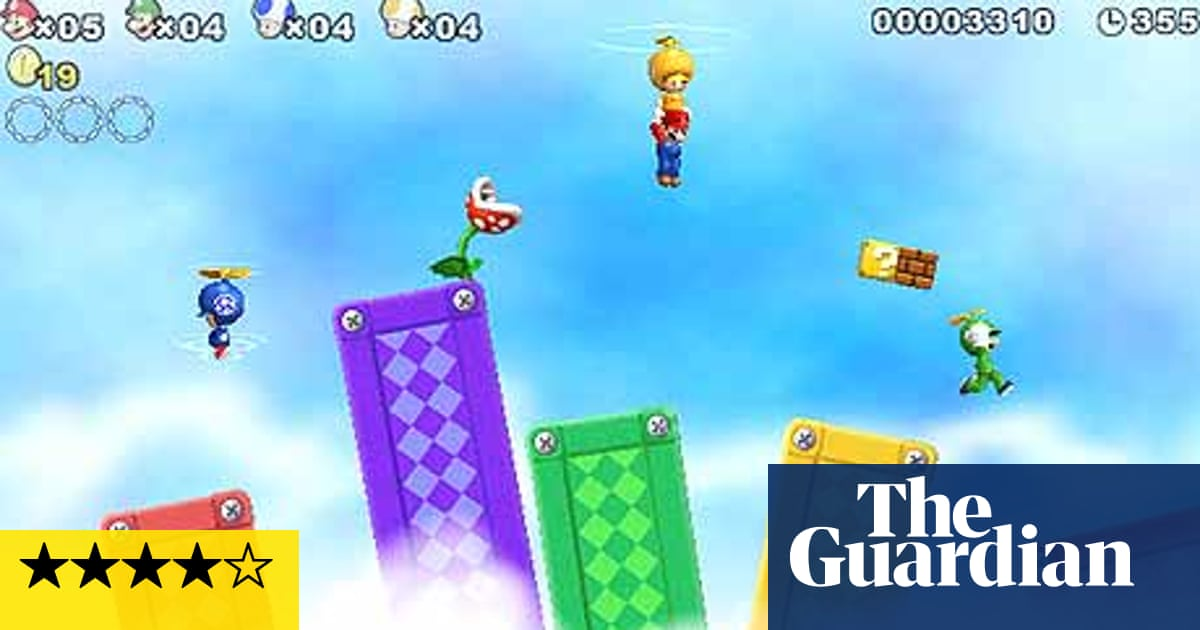 New Super Mario Bros Wii Game Review Games The Guardian