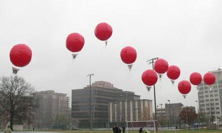 Darpa's secret balloons