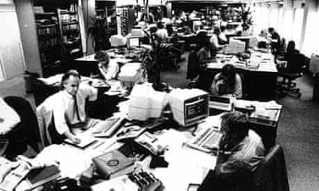 Guardian newsroom