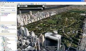 Google Earth - New York