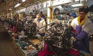 BYD Car Factory
