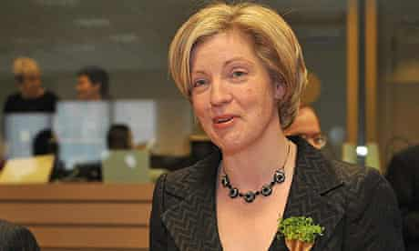 Irish Agriculture Minister Mary Coughlan