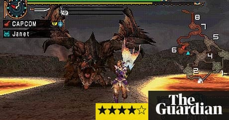 Game review monster hunter freedom unite for the sony psp games game review monster hunter freedom unite for the sony psp games the guardian forumfinder Gallery