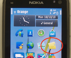 Nokia N8: that's not your email