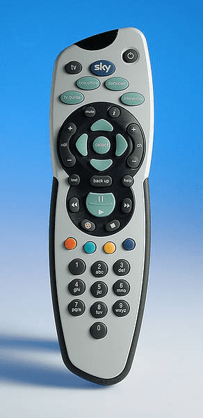 Sky Plus remote