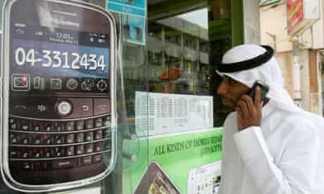 BlackBerry on sale in Dubai