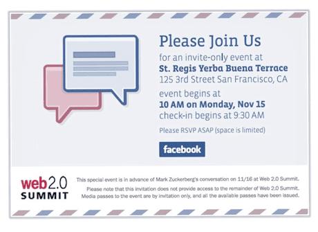 Facebook: email invite?