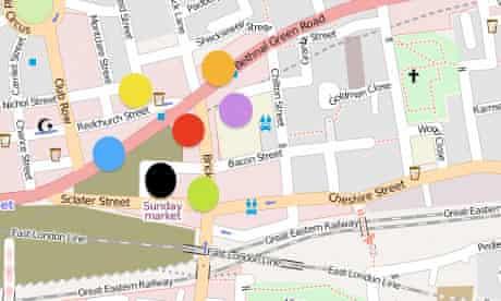 Mapping UK tech startups