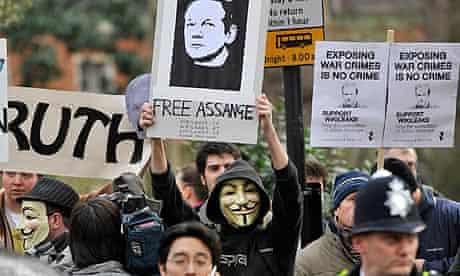 WIkiLeaks Assange Court