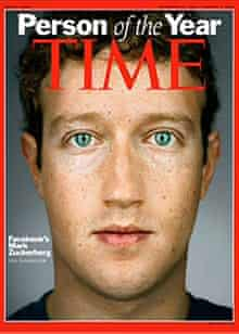 Mark Zuckerberg, founder of Facebook, is Time magazine's Person of the Year