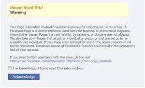 Facebook bans anonymous
