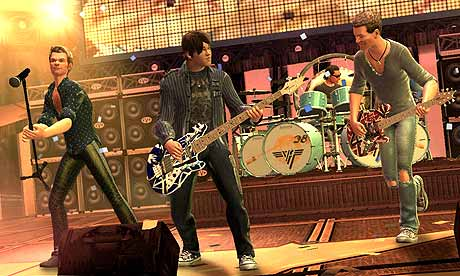 Guitar Hero Van Halen For Xbox 360 Ps3 And Wii Game Review Games The Guardian